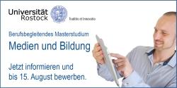 Werbebanner zu Medien Bildung Rostock